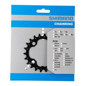 Shimano SLX FC-M672/FC-M622 kettingblad AN 64 mm 22 tanden zwart
